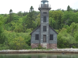 Old lighthouse. Mothballed in 1948.